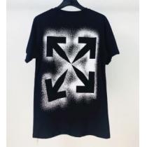 オフホワイト 20SS☆送料込 2色可選 Off-White  普段のファッション 半袖Tシャツ 破格値-1