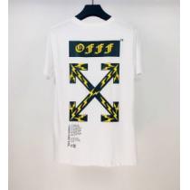 Off-White エレガントな雰囲気 オフホワイト2色可選  半袖Tシャツ おしゃれな人が持っている-1