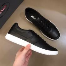 美しくデザイン性のある  プラダ PRADA2色可選  気になる2020年新作 スニーカー 気品がある-1