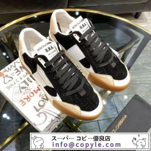 2020SS数量限定  ドルチェ&ガッバーナ Dolce&Gabbana 最新トレンドスタイル  スニーカー-2
