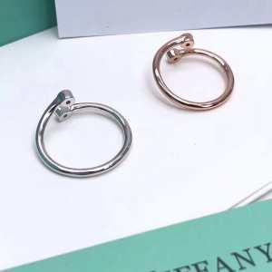 ティファニー 一目惚れ級に Tiffany&Co 有名ブランドです リング/指輪 争奪戦必至-3