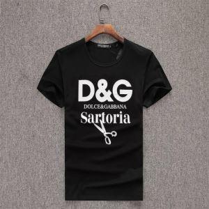 3色可選 半袖Tシャツ 2020年春夏コレクション ドルチェ&ガッバーナ 注目度が上昇中 Dolce&Gabbana-3