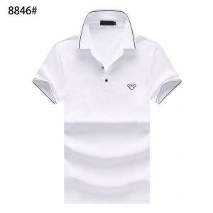 大人気のブランドの新作 半袖Tシャツ 3色可選 老舗ブランド プラダ PRADA  確定となる上品-3