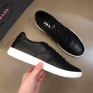 美しくデザイン性のある  プラダ PRADA2色可選  気になる2020年新作 スニーカー 気品がある-3