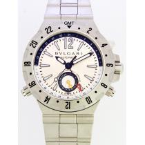 ブルガリスーパーコピー ディアゴノ GMT40C5SSD プロフェッショナル GMT ブレス シルバー-1