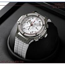 ウブロ コピー ビッグバン サンモリッツ スティールホワイト ダイヤモンド 342.SE.230.RW.114-1