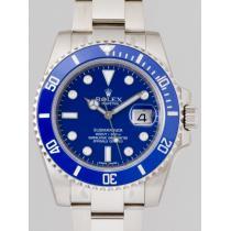 ロレックススーパーコピー ROLEX サブマリーナデイト 116619GLB 8Pダイヤ ブルー-1