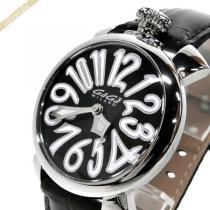 Gaga Milano コピー ガガミラノ スーパーコピー 腕時計 マヌアーレ MANUALE 40mm ブラック gaga eqasFNha-1