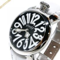 Gaga Milano コピー ガガミラノ コピー 腕時計 マヌアーレ MANUALE 40mm ブラック×ホワイト gaga M2TS6WaE-1