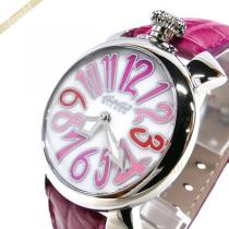 Gaga Milano コピー ガガミラノ コピー 腕時計 マヌアーレ MANUALE 40mm ピンク gaga BvqG3O1B-1