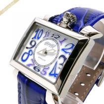 Gaga Milano スーパーコピー ガガミラノ スーパーコピー 腕時計 ナポレオーネ NAPOLEONE スクエア ホワイト×ブルー gaga rHKDP33m-1