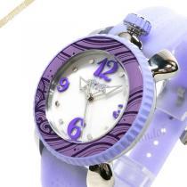 Gaga Milano コピー ガガミラノ スーパーコピー レディース腕時計 LADY SPORTS 39mm ホワイトパール×ライトパープル gaga Nl4RpEKC-1