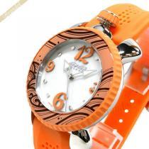 Gaga Milano コピー ガガミラノ スーパー コピー レディース腕時計 LADY SPORTS 39mm ホワイトパール×オレンジ gaga PXlGnojn-1