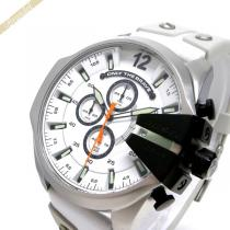 DIESEL スーパーコピー ディーゼル スーパーコピー メンズ腕時計 Mega Chief メガチーフ クロノグラフ 52mm ホワイト DIESEL kwPPSZ4E-1
