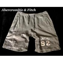 【Abercrombie&Fitch コピー】スウェットショートパンツ L/Gray-1