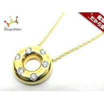 ティファニー  ネックレス ドッツネックレス K18YG×Pt950×ダイヤモンド ダイヤモンド-1
