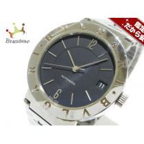 BVLGARI スーパー コピー(ブルガリ スーパー コピー) 腕時計 ブルガリ スーパー コピーブルガリ スーパー コピー BB33SS メンズ 黒-1