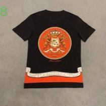 有名ブランドです 半袖Tシャツ 一目惚れ級に ドルチェ&ガッバーナ Dolce&Gabbana-1