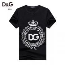 ドルチェ&ガッバーナ1点限り!VIPセール 2色可選  Dolce&Gabbana おしゃれ刷新に役立つ 半袖Tシャツ-1