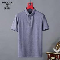 プラダ海外でも大人気 3色可選  PRADA 日本未入荷カラー 半袖Tシャツ 注目を集めてる-1