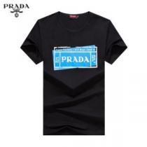 有名ブランドです 半袖Tシャツ 3色可選 人気ランキング最高 プラダ PRADA  着こなしを楽しむ-1