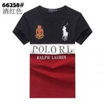 3色可選 あらゆるコーデに馴染む 半袖Tシャツ 芸能人愛用するアイテム ポロ ラルフローレン Polo Ralph Lauren-1